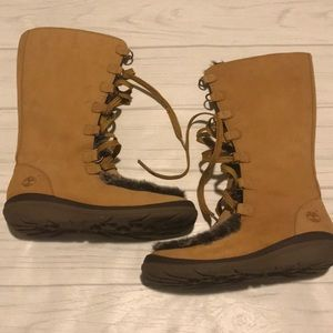 Timberland women's size 6.5 mid calf winter boots